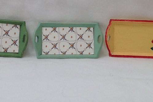 Tray - Green Tile