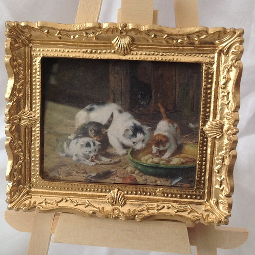 Picture 2 - Teatime Cats