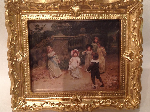 Picture 125 - Skipping Children