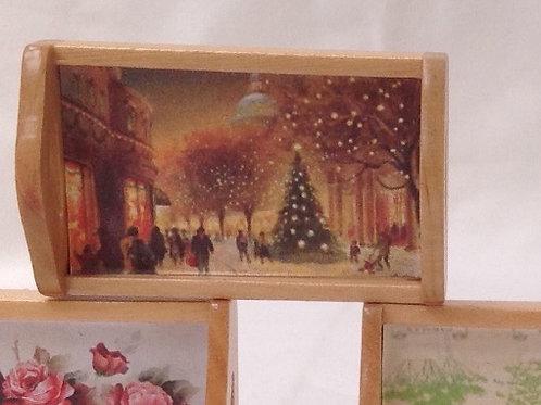 Tray - Pine / Christmas