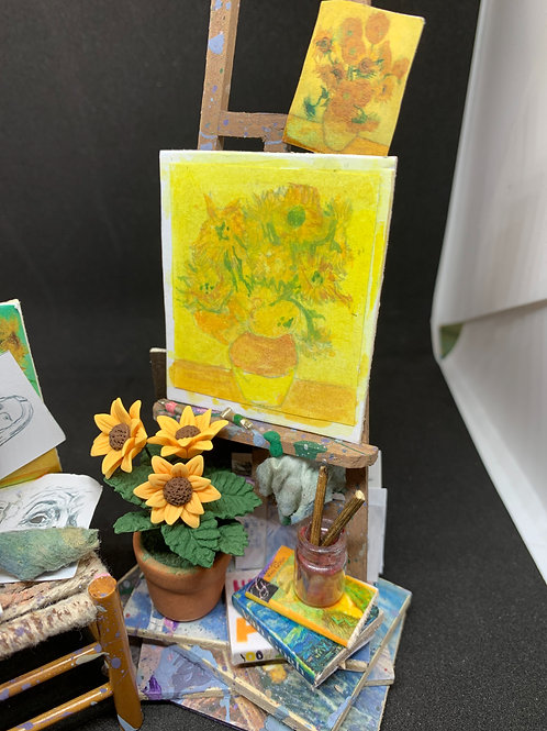 Artist Easel and Chair