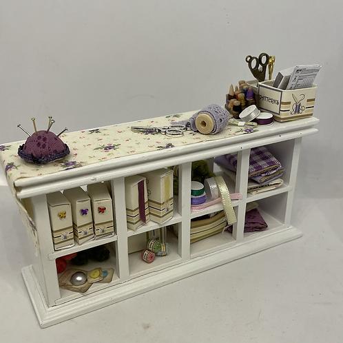 1/12th Haberdashery / Sewing Counter