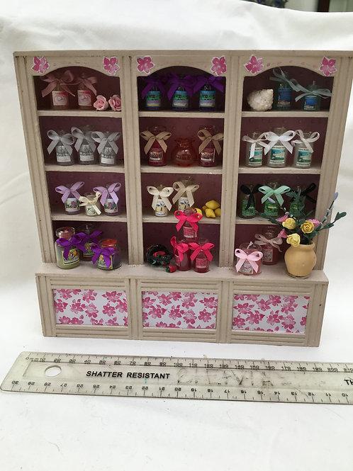 Candle Shop Shelf