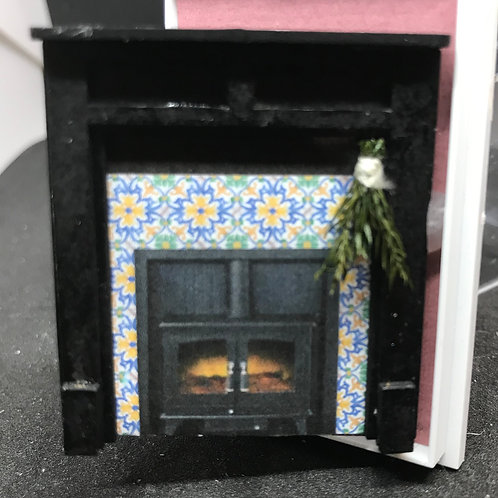 1/48th  - FIRE SURROUND KITCHEN