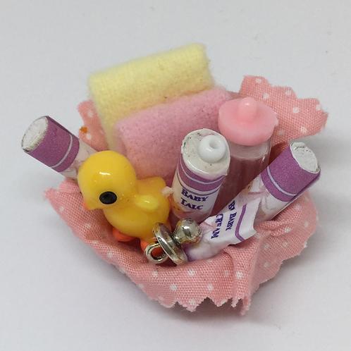 Baby Basket - Pink