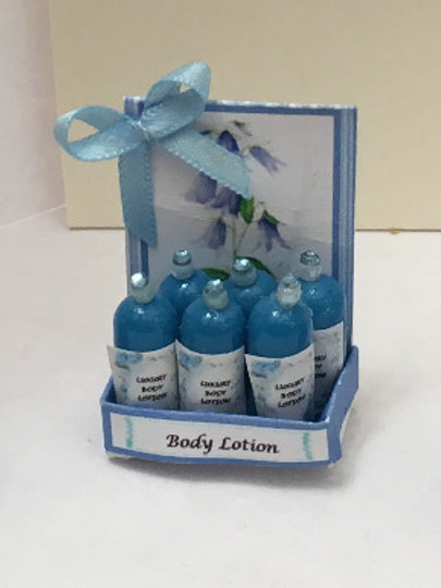 Bluebell Body Lotion Counter Display