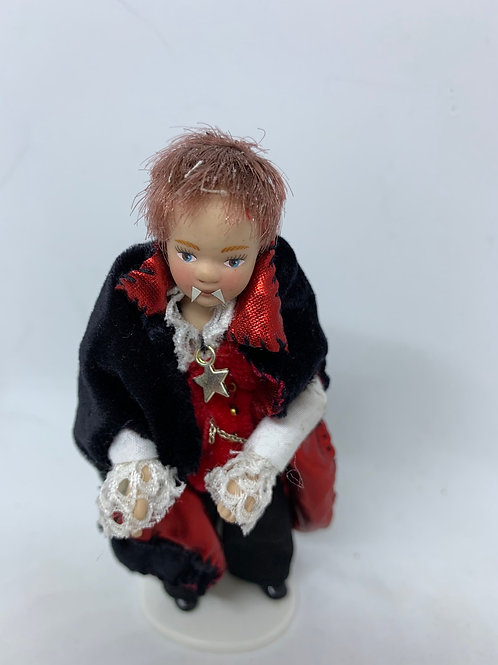 Danny The Count of Dracula - Halloween dressed doll