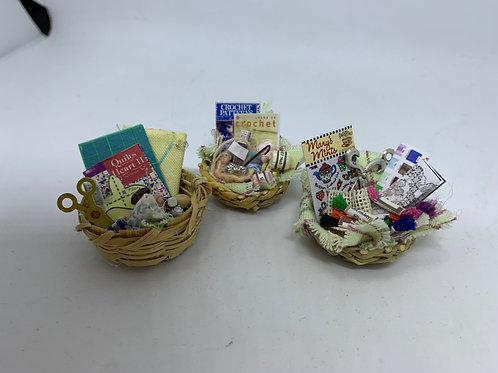 Haberdashery Baskets - many styles available