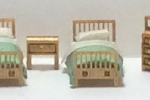 1/144th Scale Furniture Kit - Modern Childs Room