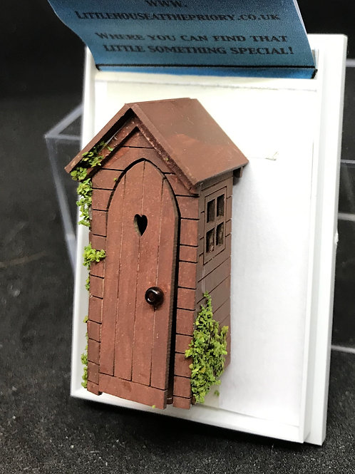 1/48th  - POTTING SHED DK BROWN