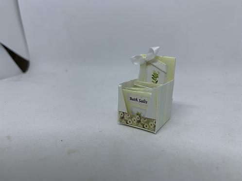 Gardenia Bath Salts Counter Display