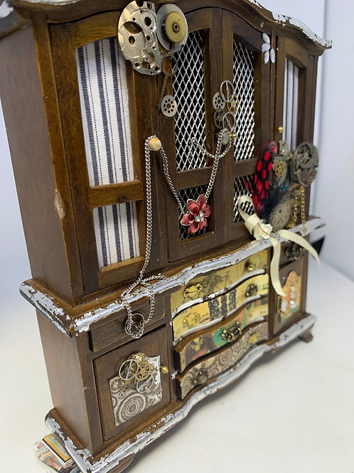 Steampunk Themed Cabinet