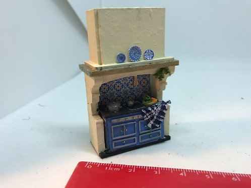 1/48th  - FRENCH STOVE BLUE