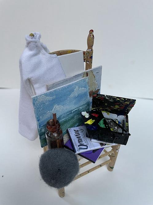 Artist chair - seaside