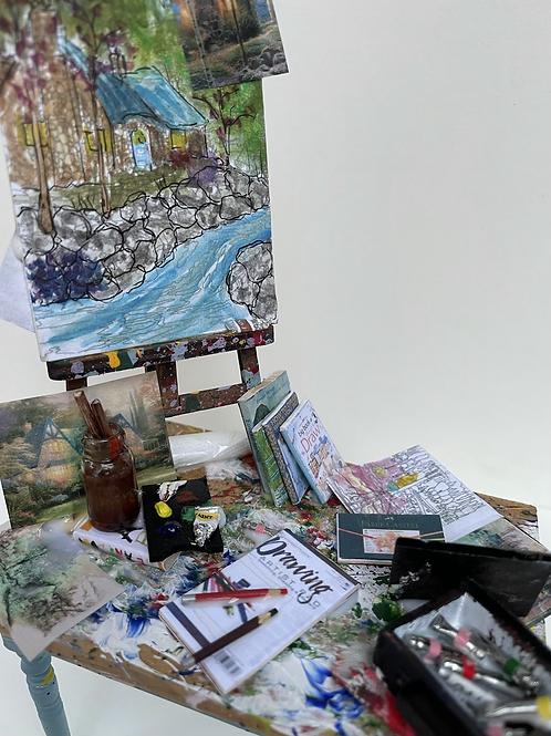 Artist Table - kinkade