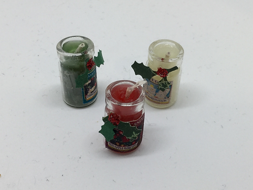 Christmas Candles - Small