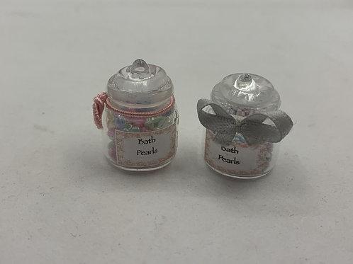 Bath Pearls Jar x1