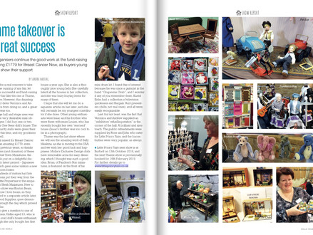 Wonderful article in the latest edition of Dolls House World regarding the Thame Fair in February