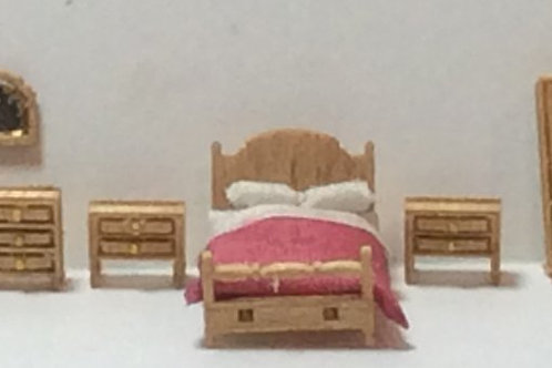 1/144th Scale Furniture Kit - Country BedRoom