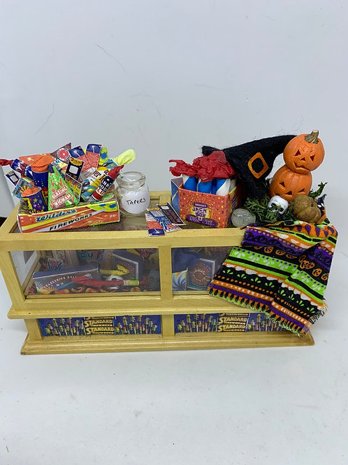 Bonfire / Firework  /Halloween Counter