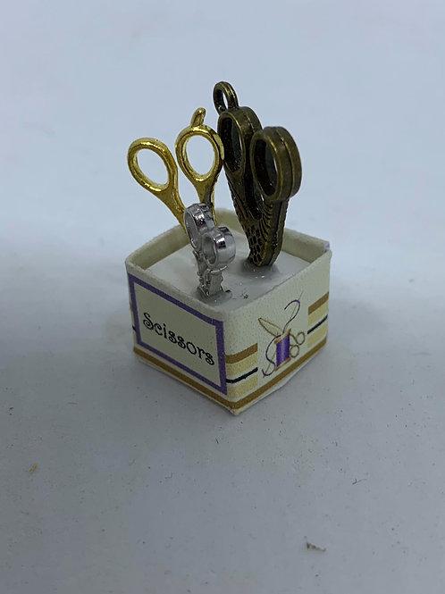Scissors Box