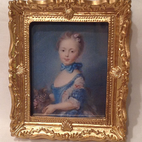 Picture 105 - Classical girl in blue