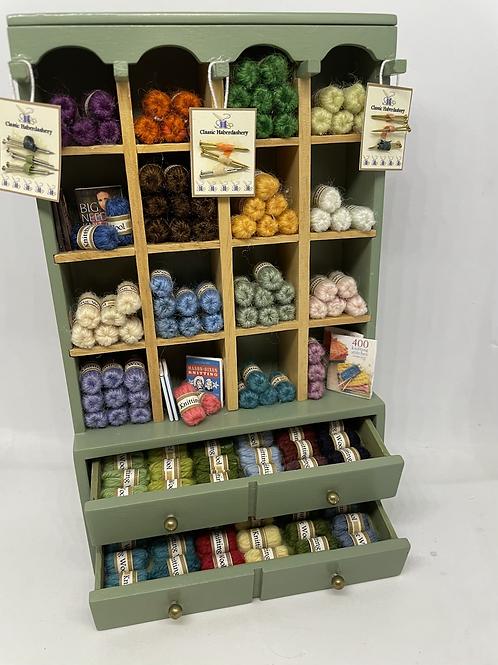 1/12th Wool Shop Shelf