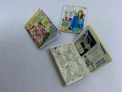 Openable Sewing Book x1
