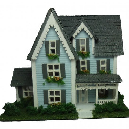 1/144th Scale House Kit - Victorian House