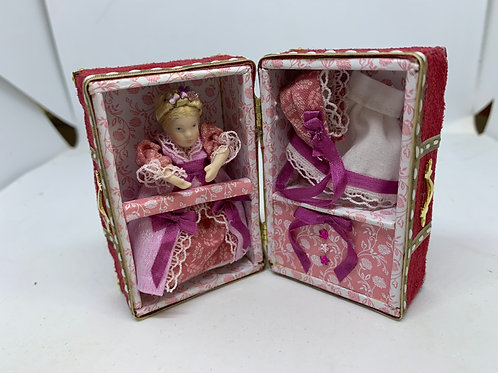 Princess Doll with a Travel case