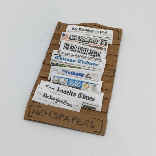 Newspaper Rack -  USA