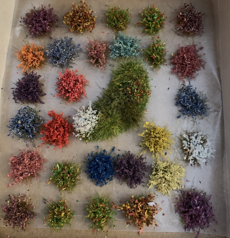 Miniature scenics - flowers