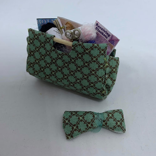 Knitting Bag and Needle Wrap (Various Colours)