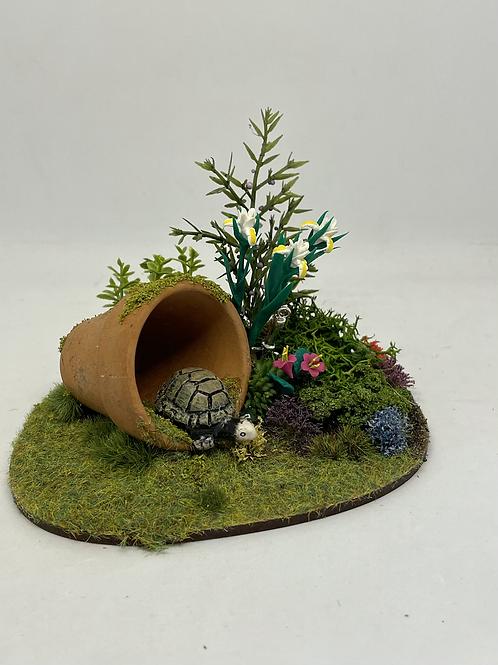 1/12th garden scene - tortoise