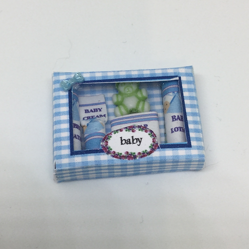 Baby Toiletries - Blue