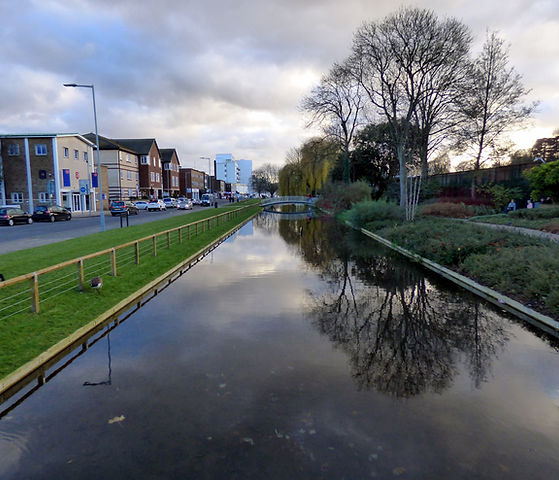 River Gade_ Jellicoe Water Gardens_Peter