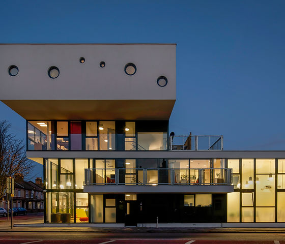 Redbridge Welcome Centre by Peter Barber