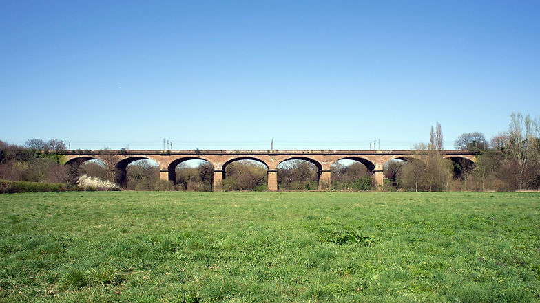 The Wharncliffe Railway Viaduct in South