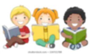 illustration-happy-children-sitting-whil