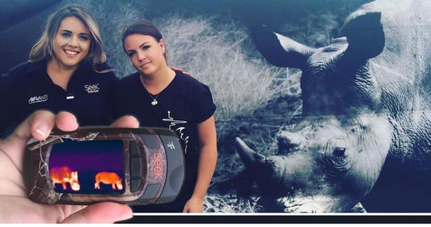 Jeanri Mellanby Natalie Stockenstorm saving Rhinos