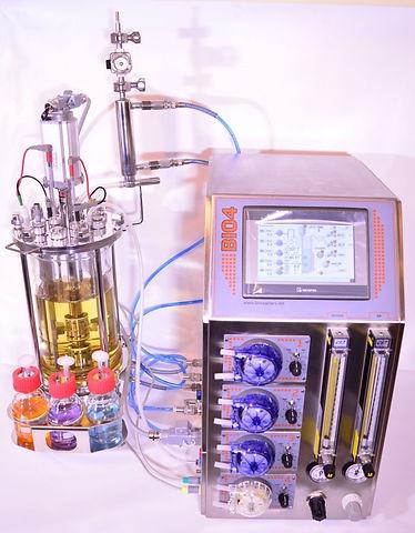 5L laboratory bioreactor and controller