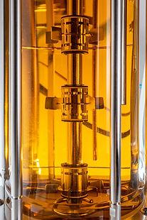 magnetic mixer bioreactor 15L