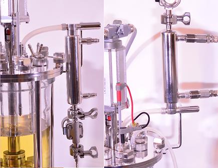 5L bioreactor condenser