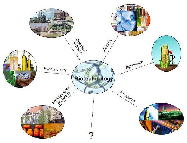 Biotechnologu uses