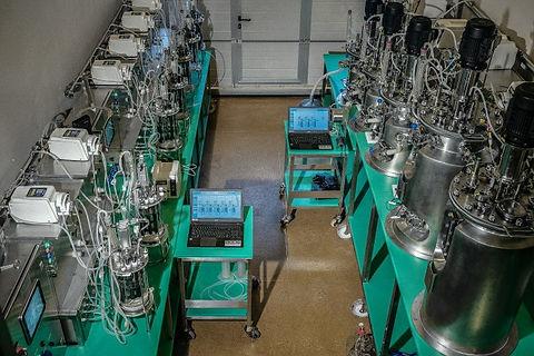 Bioleaching production industrial bioreactor plant