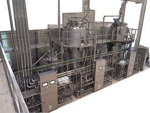 Pichia pastoris industrial bioreactor line