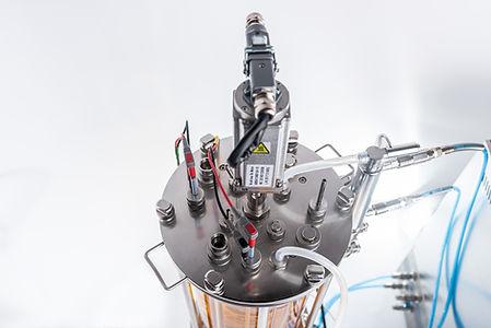 15L bioreactor top lid