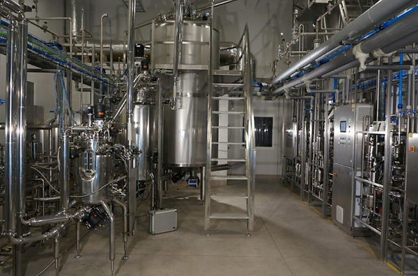 Biofertilizer industrial bioreactor plant