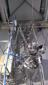 Industrial bioreactor line