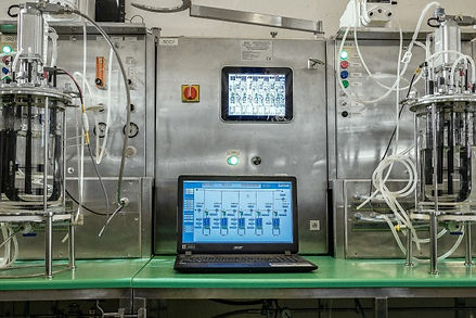 Bioleaching control system automation bioreactors